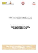 Prácticas de Educación Intercultural en centros educativos de la provincia de Barcelona
