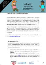 Español y diversidad lingüística 1