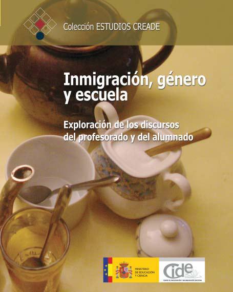 Portada de Inmigración, género y escuela.