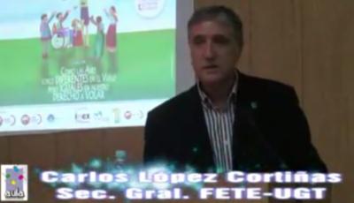 Carlos López Cortiñas en Cáceres