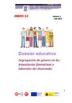 Segregación de género en las trayectorias formativas y laborales del alumnado