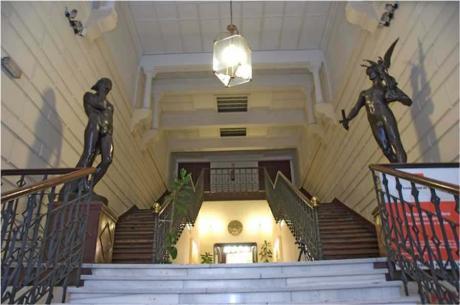 Escalinata del Ateneo