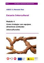 Como trabajar con equipos directivos actitudes interculturales