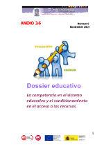 La competencia en el sistema educativo y el condicionamiento en el acceso a los recursos