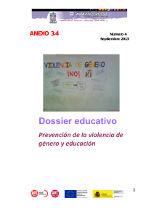 Prevención de la violencia de género y educación