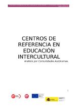 Centros de referencia por Comunidades Autónomas