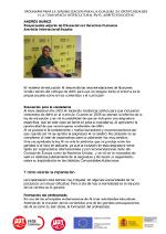 Entrevista Andrés Muñoz de Amnistía Internacional