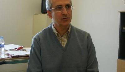 Miquel Rodrigo en la entrevista