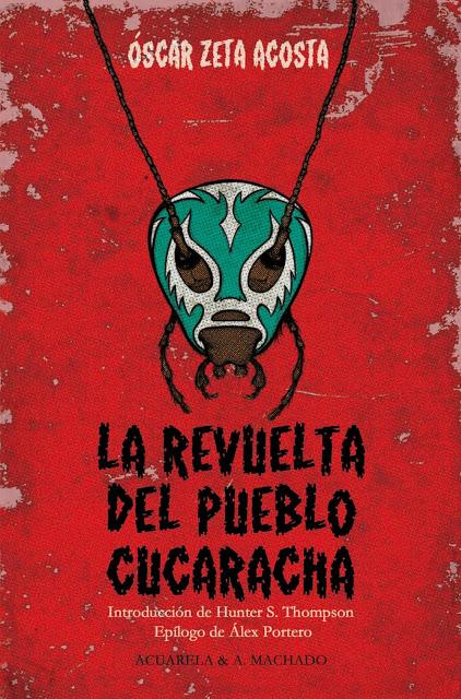 Portada de 'La revuelta del pueblo cucarahca' (Acuarela libros).