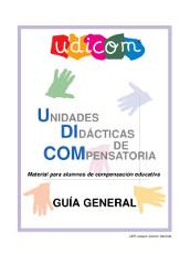 UDICOM. Unidades Didácticas de Compensatoria