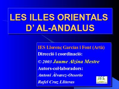 Les Illes Orientals d'Al-Andalus