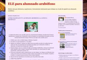 ELE para alumnado arabófono