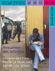 Educación para todos. Hacia la Igualdad entre los sexos