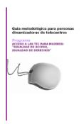 Guia didáctica para la inclusión a las TIC con perspectiva de genero y de interculturalidad