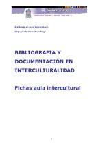 Bibliografía y documentación en Interculturalidad