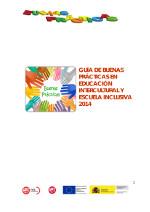Buenas Prácticas en Educación Intercultural 2014