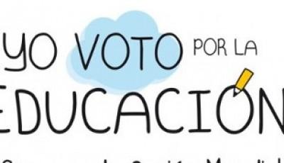 yo voto por la educación