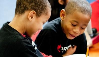 Niños en un aula