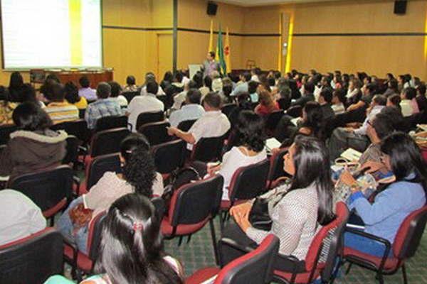 Foto de la sala del seminario