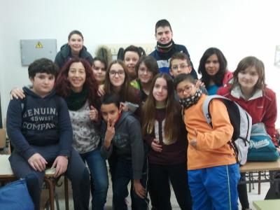Foto del grupo de niños asistentes