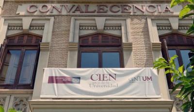 Foto de la fachada de la Universidad
