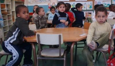 Grupo de alumnos inmigrantes