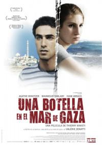 Cartel de la película Una botella en el mar de Gaza