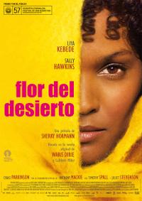 Cartel de la película Flor del desierto