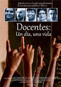 Cartel del documental Docentes, un día, una vida