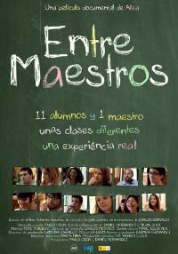 Cartel del documental Entre maestros