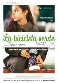 Cartel de la película La bicicleta verde