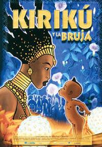 Carátula de la película Kiriku y la bruja