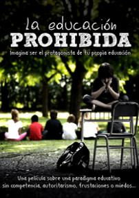 Cartel del documental La educación prohibida