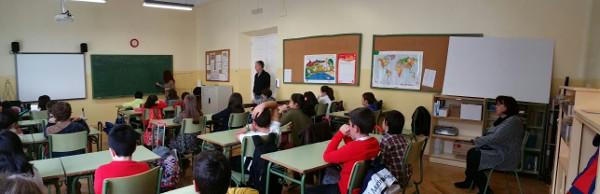 Otra imagen general de la clase durante el taller