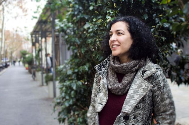 Imagen de la entrevistada, Irene Santiago