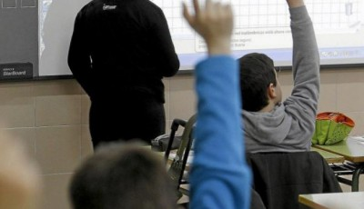 Imagen de alumnos en una clase