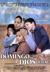Cartel de la película El domingo si Dios quiere