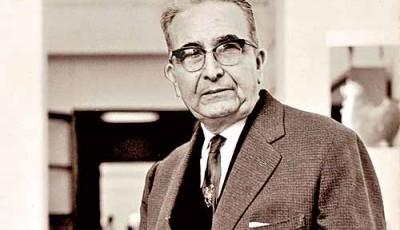 Imagen del historiador Luis E. Valcárcel