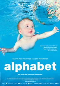 Cartel del documental Alphabet