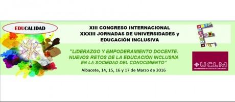 Jornadas de Universidades y Educación Inclusiva
