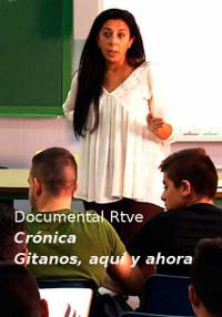 Cartel del documental Crónica: gitanos, aquí y ahora