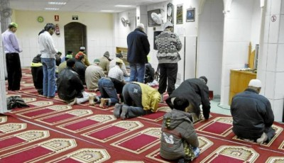 Imagen de una mezquita de Barcelona