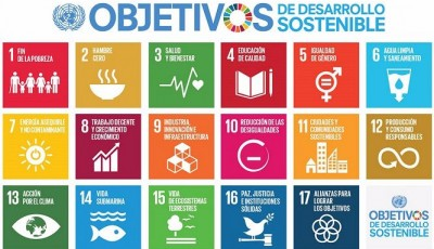 Cartel de los Objetivos de Desarrollo Sostenible de la ONU