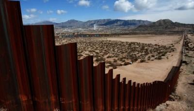 Muro que protege la frontera en Ciudad Juárez