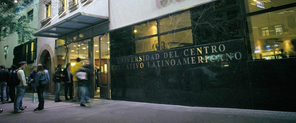 Imagen de la fachada de la UCEL