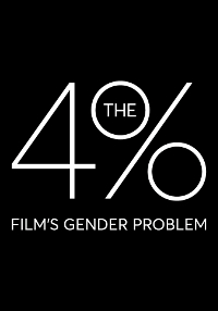 Cartel del documental The 4%: Film's Gender Problem