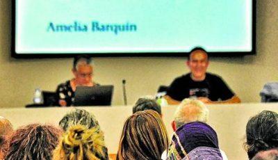 Imagen del publico de la conferencia