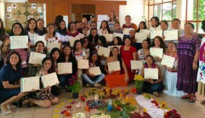 Imagen de grupo de las asistentes al curso