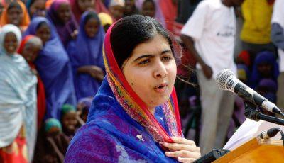Imagen de Malala en Dadaab