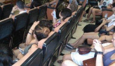 Imagen de los alumnos en uno de los seminarios